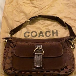 Coach Brown Bag